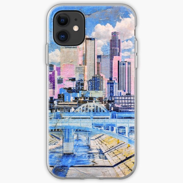 Los Angeles in Baby Colors iPhone Soft Case