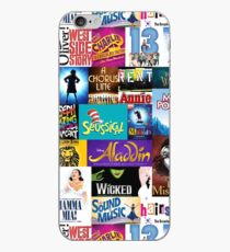 Broadway Musicals iPhone Case