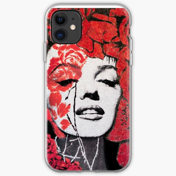 Marilyn Roses and Thorns iPhone Soft Case