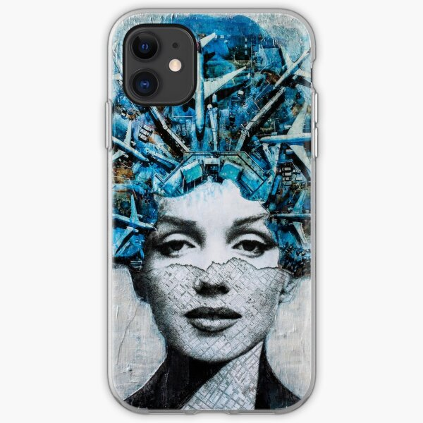 Marilyn in the Airplanes Hat iPhone Soft Case