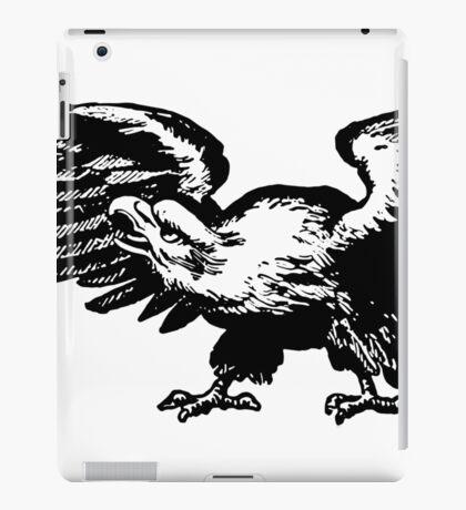 Retro and Vintage American Bald Eagle iPad Case/Skin