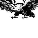 Retro and Vintage American Bald Eagle by Chocodole