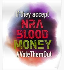 NRA Blood Money Poster
