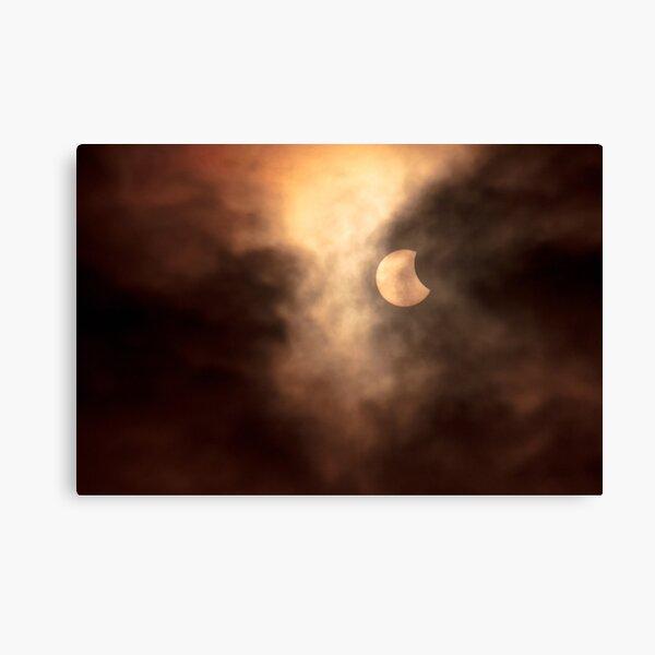 Solar Eclipse 2015 - 09.04am Canvas Print