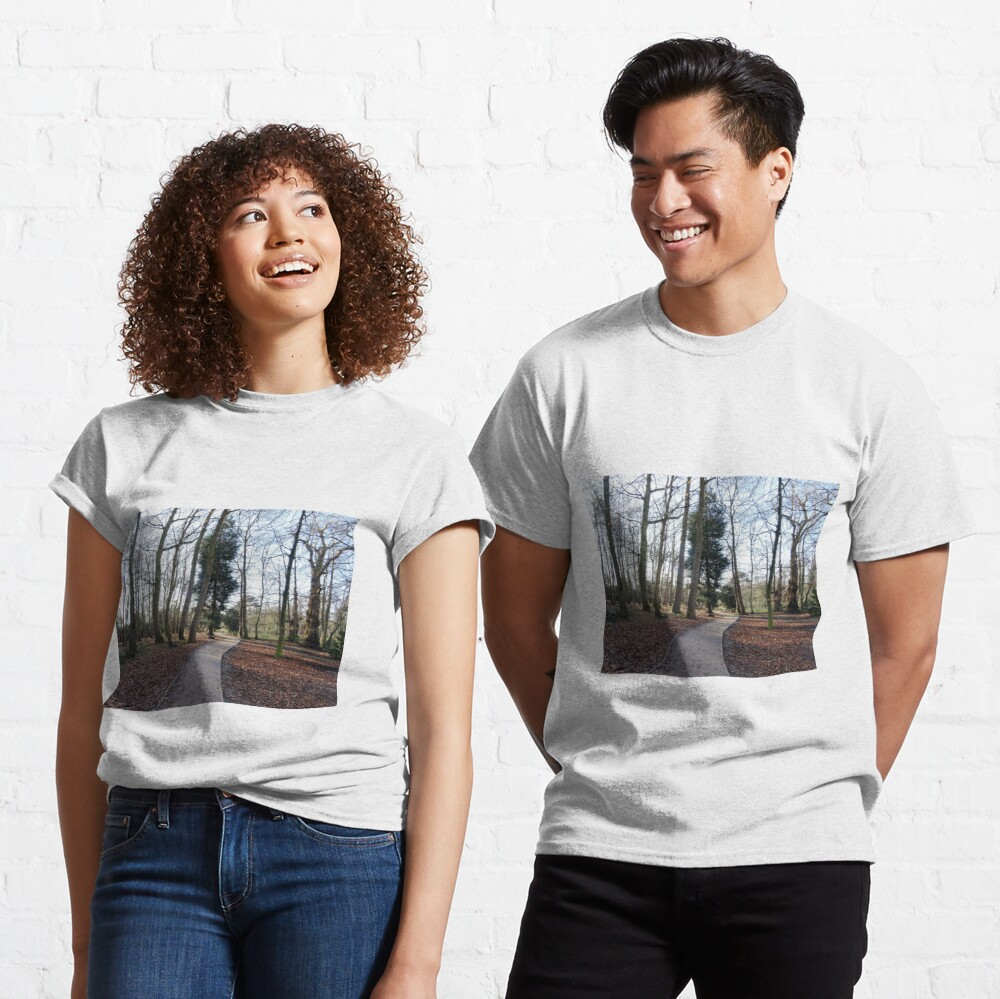 Lovely path and walk in the woods Classic T-Shirt