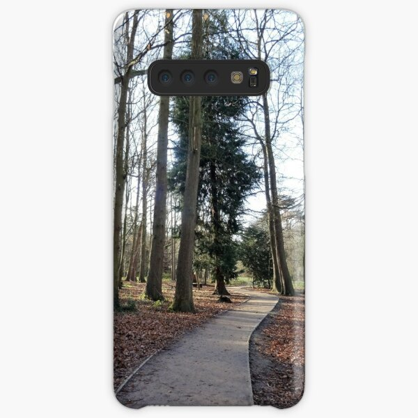Lovely path and walk in the woods Samsung Galaxy Snap Case