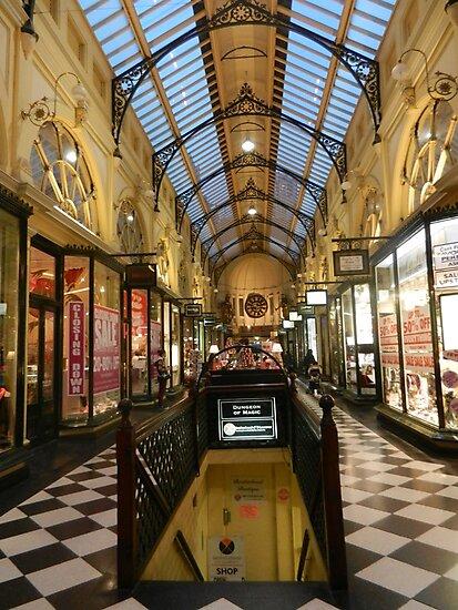Royal Arcade, Melbourne by Gillian Polack