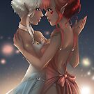 Embers to Stars - Elya & Fraie Dance by CoffeeCatArts
