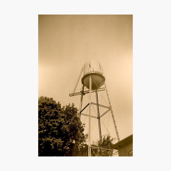 Pocasset Water Tower Photographic Print