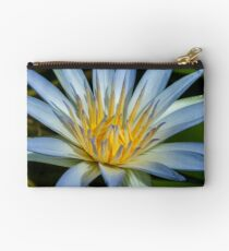 Blue Water Lily Studio Pouch