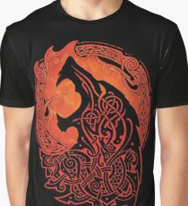 FENRIR. LOKI'S SON. Graphic T-Shirt