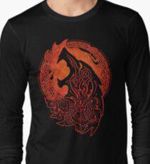 FENRIR. LOKI'S SON. Long Sleeve T-Shirt