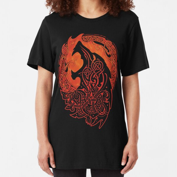 FENRIR. LOKI'S SON. Slim Fit T-Shirt