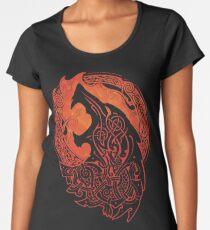 FENRIR. LOKI'S SON. Women's Premium T-Shirt