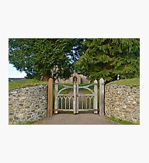 The Gate To St. Leonard's Photographic Print