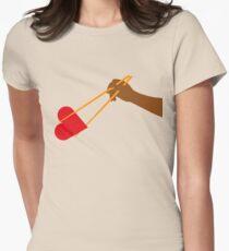 Chopstick Love Women's Fitted T-Shirt