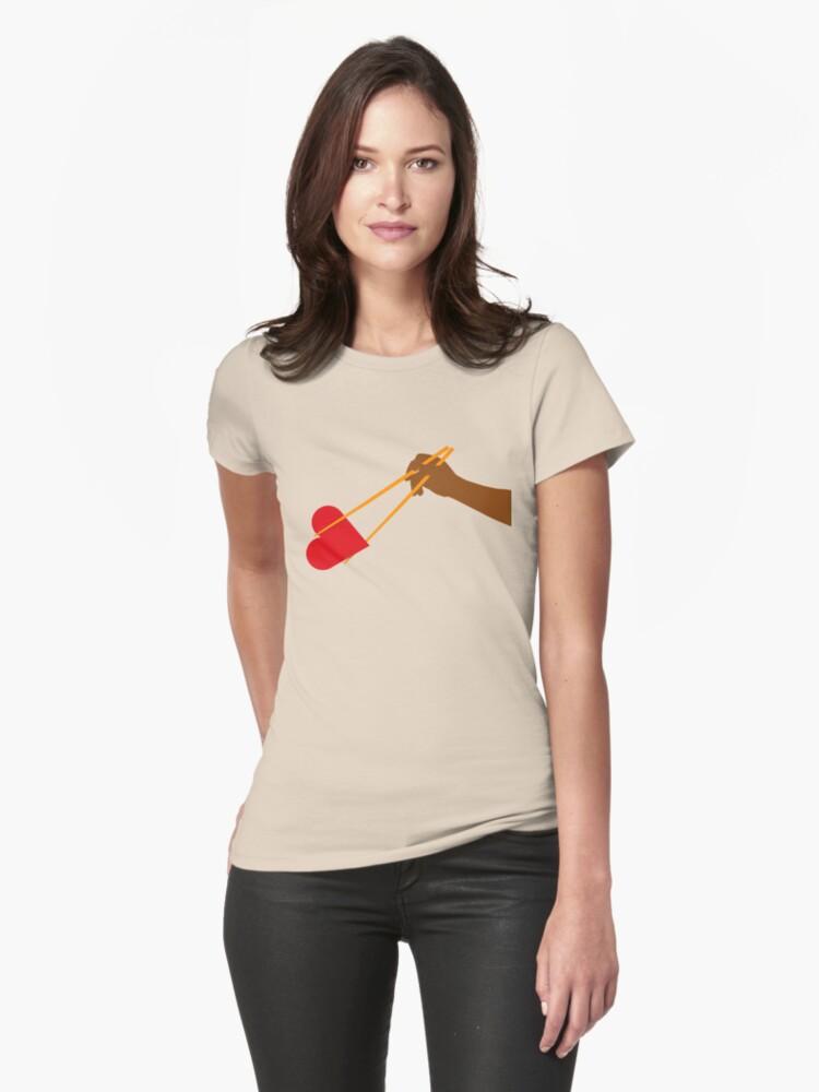 Chopstick Love by Dentanarts