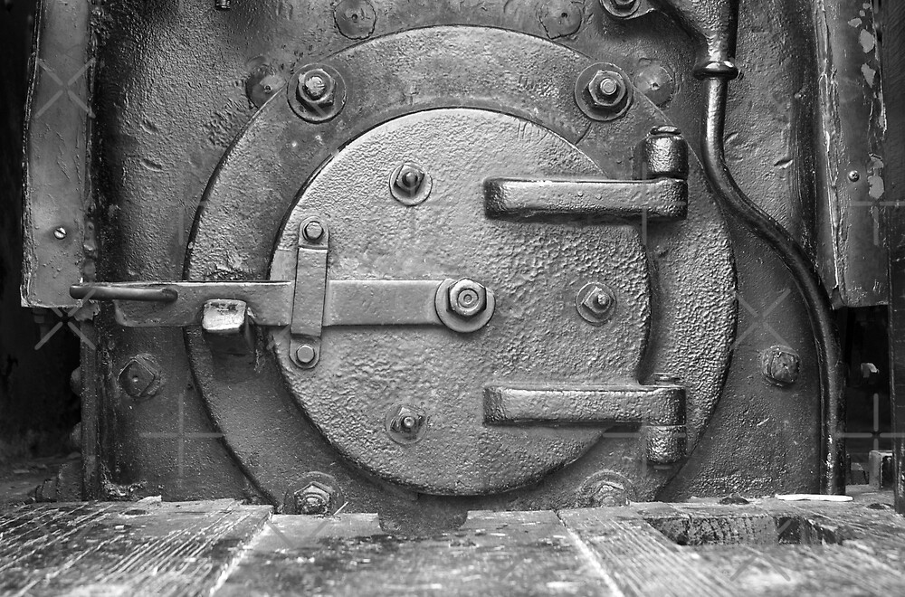 Locomotive Fuel Door by William Fehr