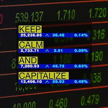 Keep Calm and Capitalize -noir- by DeplorableLib