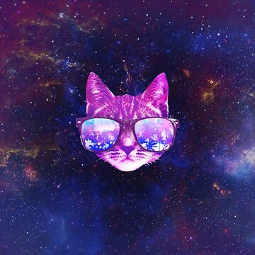 Galaxy Cat by hocapontas