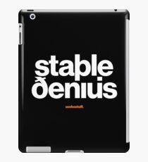 16229-03-BDK – Stable Genius – Icelandic (White) iPad Case/Skin