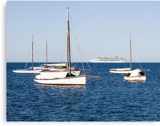 Sorrento Sailing Couta Boat Club by Rosina  Lamberti
