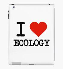 I Love Ecology iPad Case/Skin