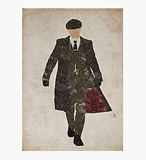 Tommy Shelby (Cillian Murphy) Peaky Blinders Photographic Print