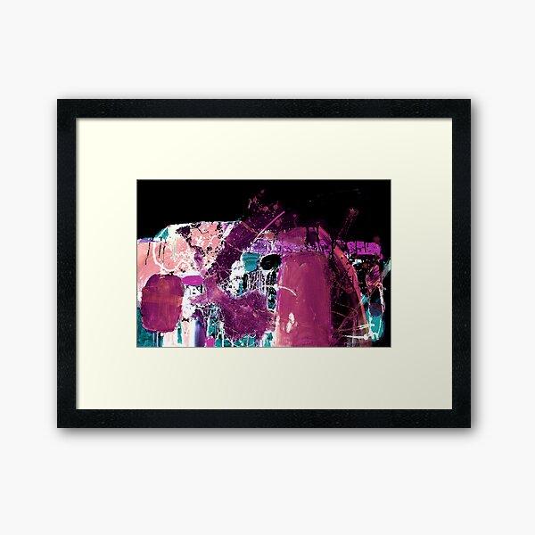 Spirit of Melbourne 2.  Framed Art Print