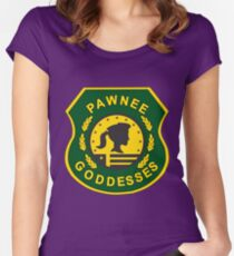 Pawnee Goddesses Women's Fitted Scoop T-Shirt
