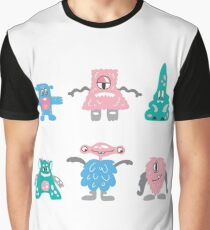 monsters family Graphic T-Shirt