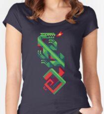 Fire Lizard Women's Fitted Scoop T-Shirt