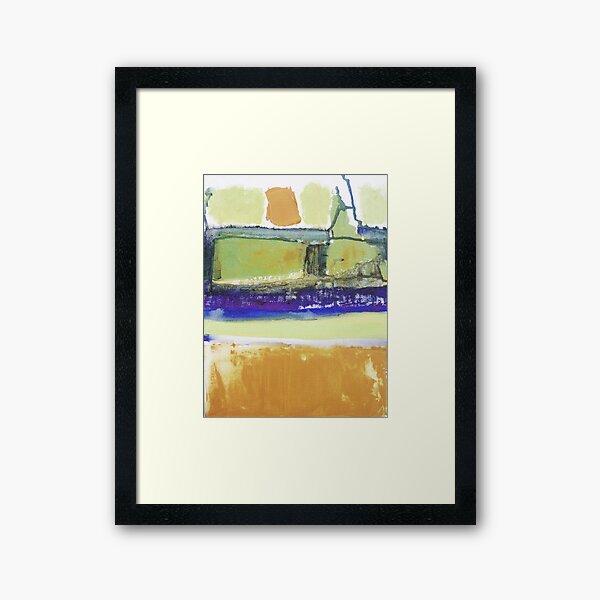 Walking in Asnieres with Vincent 3 Framed Art Print