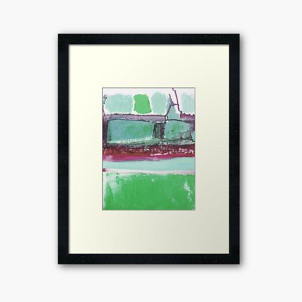 Walking in Asnieres with Vincent 2 Framed Art Print