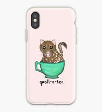 Quoll A Tea - Pink iPhone Case