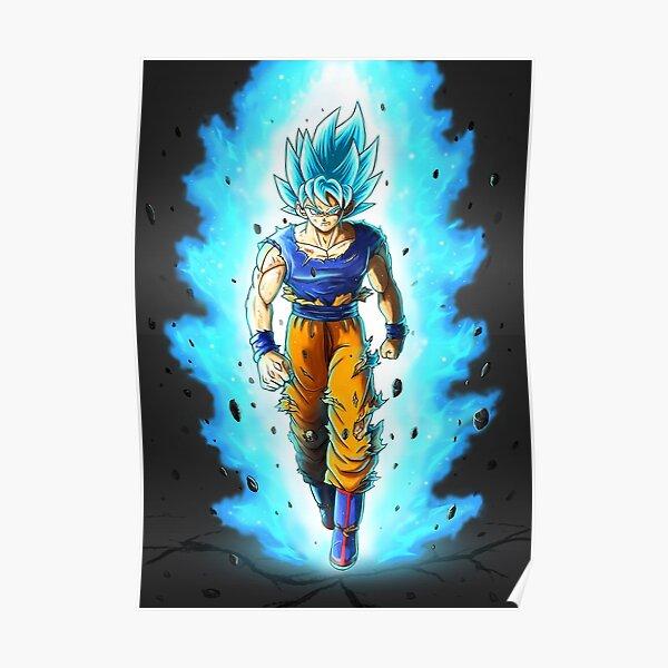 Goku SSJ Blue Poster