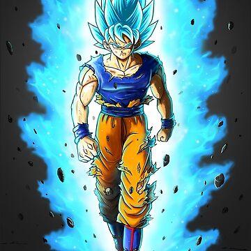 Goku SSJ Blue by Aristote