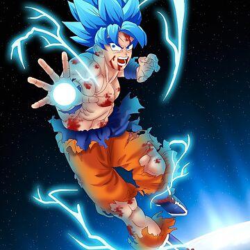 Goku SSJ Blue Bomb by Aristote