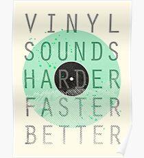 Vinyl Sounds... Poster