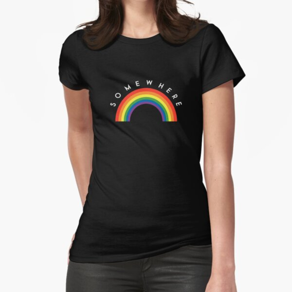 Over The Rainbow Fitted T-Shirt