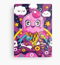 Sugar High: Sprinkles 2 Metal Print