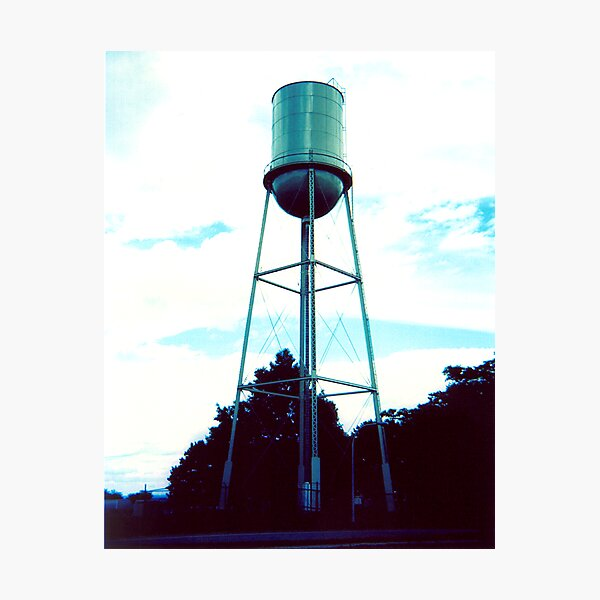 Howard Water Tower Photographic Print