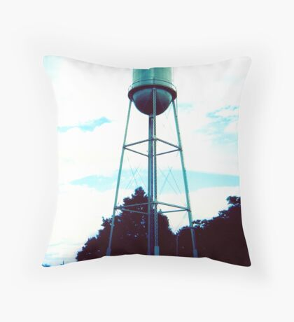 Howard Water Tower Throw Pillow