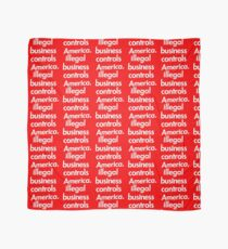 Supreme Illegal Business Controls America  Scarf