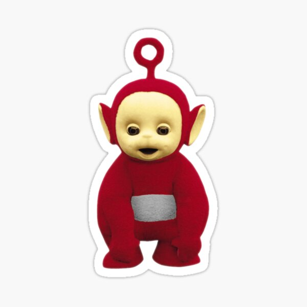 Teletubby rouge Sticker