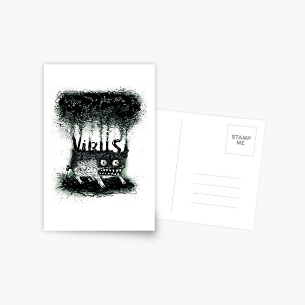 Virus Postcard