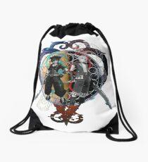 Glitched Drawstring Bag