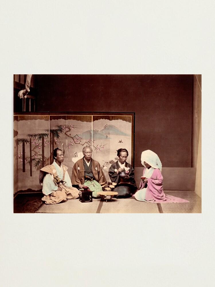 Alternate view of Japanese wedding Photographic Print