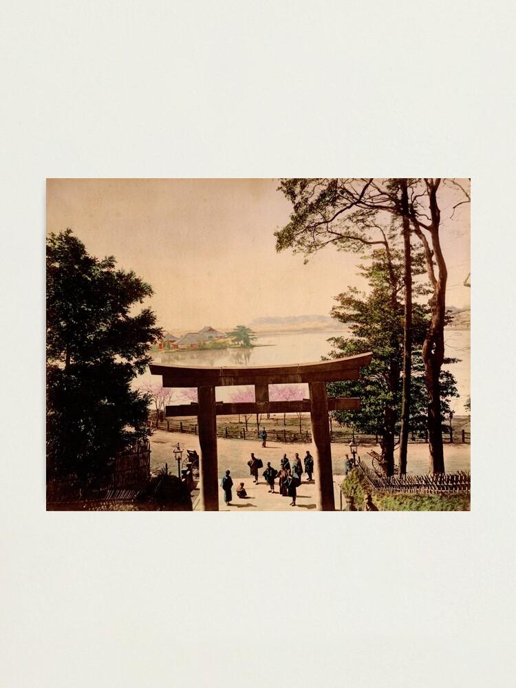 Alternate view of View of Uyeno, Tokyo Photographic Print