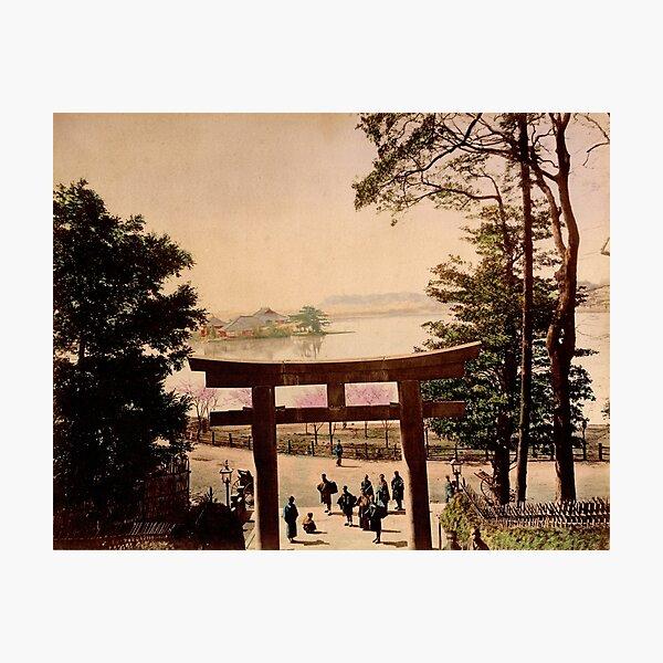 View of Uyeno, Tokyo Photographic Print